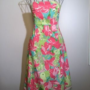 LILLY PULITZER Birdie FRANCO Strapless Dress